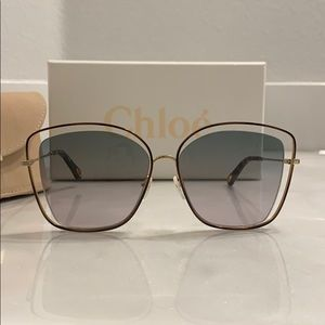 Chloe Oversized Sunglasses CE133S - Barely Used
